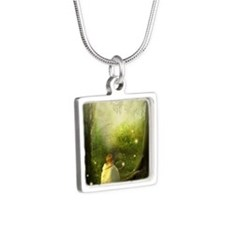 BabyMagic Silver Square Necklace