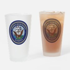 CJ01 CHS CREST Drinking Glass