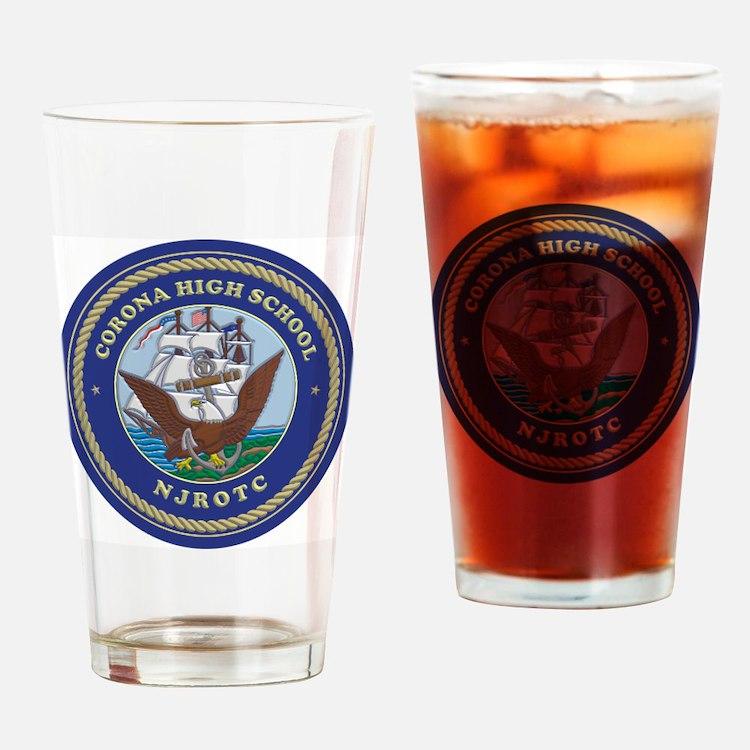 CJ01 CHS CREST Drinking Glass