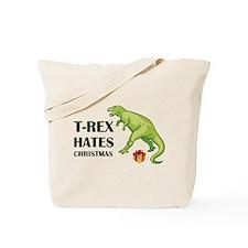 T-Rex hates Christmas Tote Bag