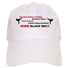 ONE Black Belt 1 Baseball Cap