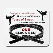 ONE Black Belt 1 Mousepad