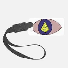 Pyramid Pupil Luggage Tag