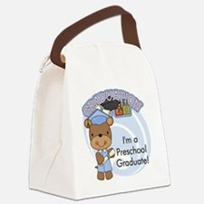 123bearpreschoolgrad3 Canvas Lunch Bag