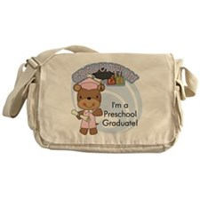 123bearpreschoolgrad2 Messenger Bag