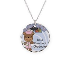 123bearpreschoolgrad2 Necklace