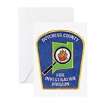 Dutchess Fire Investigation Greeting Cards (Packag