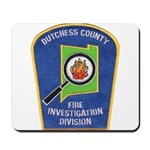 Dutchess Fire Investigation Mousepad