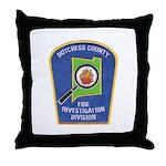 Dutchess Fire Investigation Throw Pillow