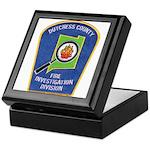 Dutchess Fire Investigation Keepsake Box