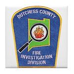 Dutchess Fire Investigation Tile Coaster