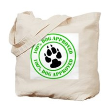 6_100dogapproved Tote Bag