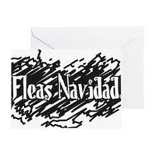 4_fleasnavidad Greeting Card