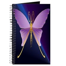 LargePoster One Big Purple Butterfly Journal