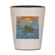 Old Man of the Sea Shot Glass