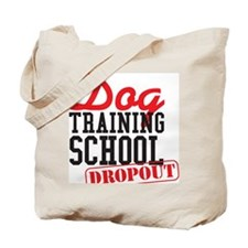 1_dogtrainingdropout Tote Bag