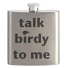 Talk birdy black Flask