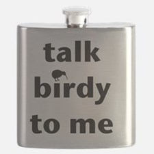Talk birdy black Flask
