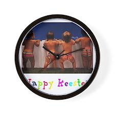 Happy_Keester Wall Clock