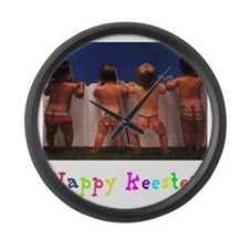 Happy_Keester Large Wall Clock