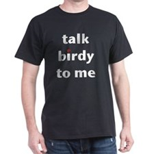 talk birdy white:red T-Shirt
