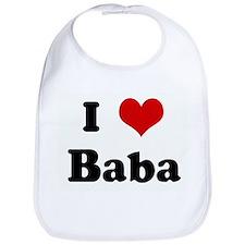 I Love Baba Bib