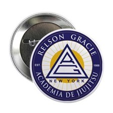 """Relson Gracie New York Academy 2.25"""" Button"""