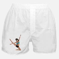 dance7_wht Boxer Shorts