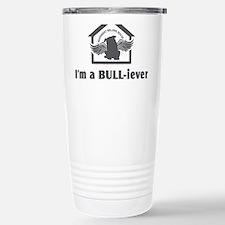 bullyfes11_gray Stainless Steel Travel Mug