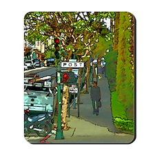 poststreetgreetingcard Mousepad