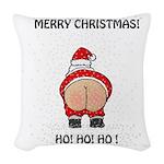 Merry Christmas! Woven Throw Pillow