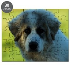 Great Pyrenees Puppy Puzzle