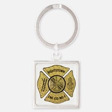 41 ping Square Keychain