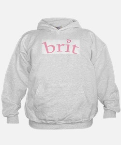 """Brit with Heart"" Hoodie"