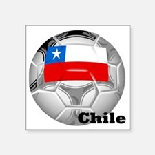 "Chile Square Sticker 3"" x 3"""