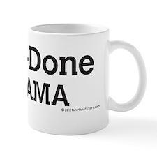 one_n_done_nobama_sticker Mug