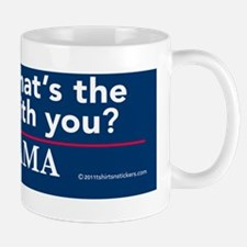whats_the_matter_nobama sticker Mug