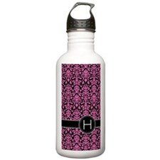 441_black_pink_H2 Water Bottle