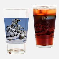 Winter Pine2 Drinking Glass