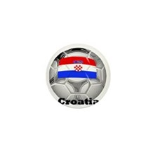 Croatia Mini Button