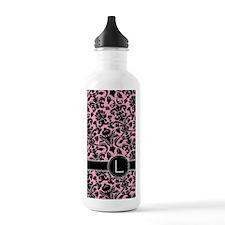 441_black_pink_L Water Bottle