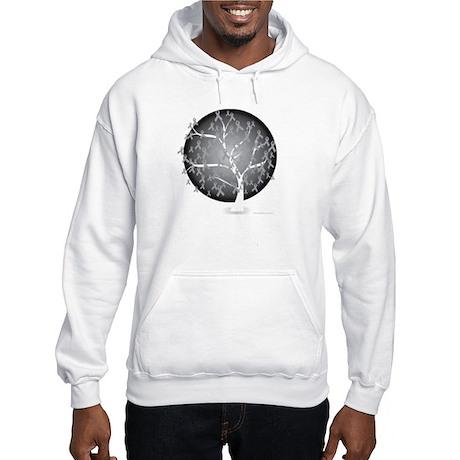 Brain-Cancer-Tree-blk Hooded Sweatshirt