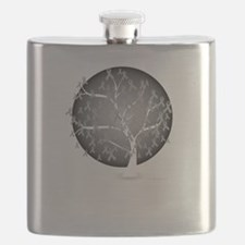 Brain-Cancer-Tree-blk Flask