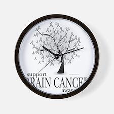 Brain-Cancer-Tree Wall Clock