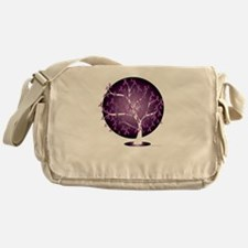 Cystic-Fibrosis-Tree-blk Messenger Bag