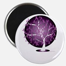 Cystic-Fibrosis-Tree-blk Magnet