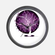 Cystic-Fibrosis-Tree-blk Wall Clock