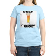 Beer Lifestyle Women's Pink T-Shirt