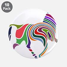 "Cute Horse 3.5"" Button (10 pack)"