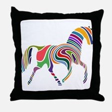 Cute Horse Throw Pillow